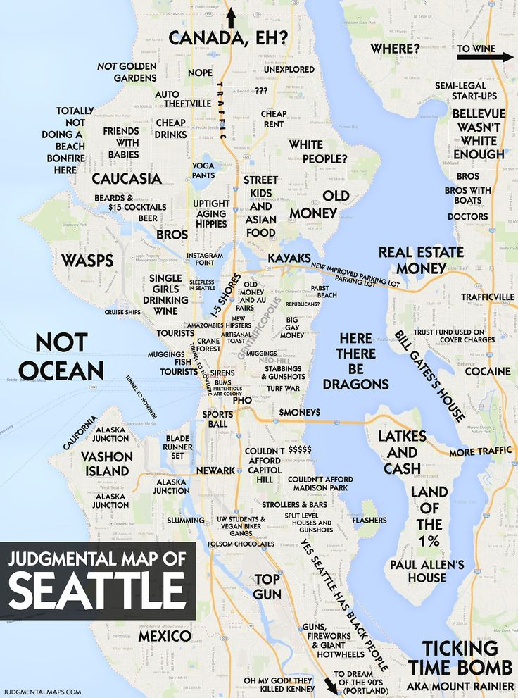 New York City New York Comedian Trent Gillaspie Has Put Together Judgmental Maps A Collection Of Funny Maps That Humorously Skewers