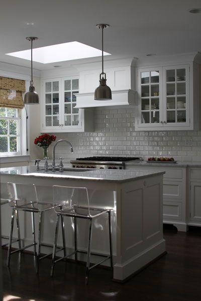 Acrylic Bar Stools - Transitional - kitchen - Bradford Designs