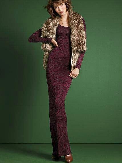 Vestido de lana VS
