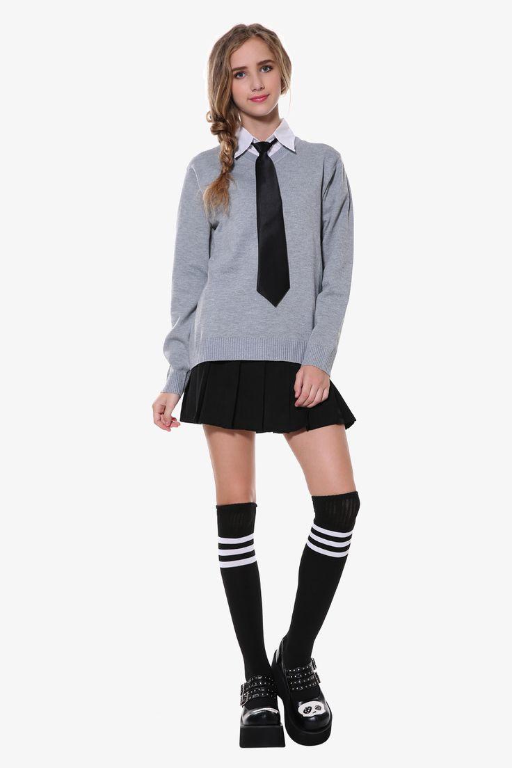 Vintage Style Skirt & Sweater Set