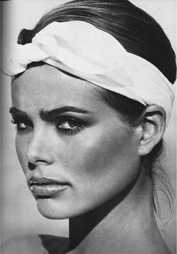 Margaux Hemingway, photo by Francesco Scavullo.