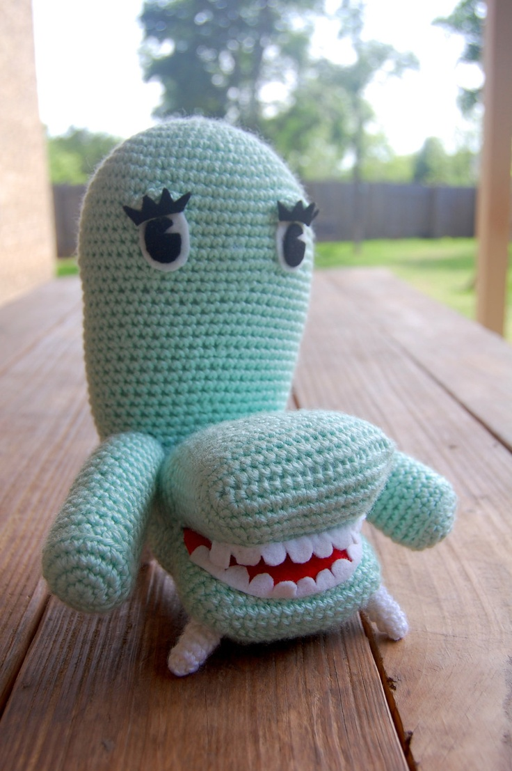 """Chairry from Pee-wee's Playhouse Crochet Amigurumi Pattern. $6.20, via Etsy."" #Amigurumi  #crochet"