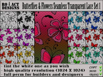 Ro!Act Designs 12 Butterfly