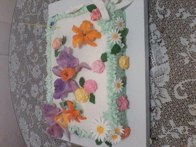 pastel de orquideas