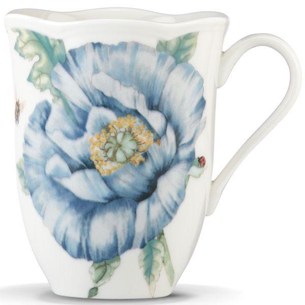 mug lenox dinnerware butterfly meadow blue collection casual dinnerware dining u0026 macyu0027s - Lenox Dinnerware