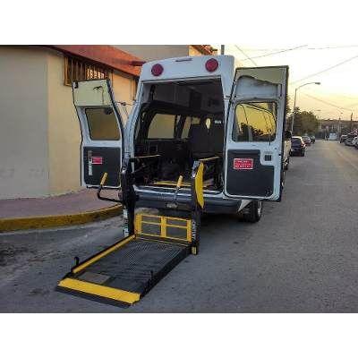 Rampa Hidraulica Para Silla De Ruedas - $ 18,500.00 en MercadoLibre