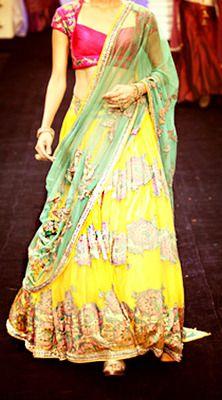 #Neeta Lulla... great color combination