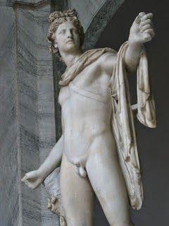 APOLO Y MARSYAS  (Soneto Recitado & Musicado):  Sátiro imprudente que cruzó una apuesta / desafiando a Apolo con rudo instrumento; / la victoria fuese desde aquel momento / del amo del arte sobre el de floresta. // Que aunque la siringa agrade en la siesta, / la lira divina obró arrobamiento: / detenido el mundo en feliz portento, / toda criatura a su son transpuesta. … (Ver más ➦) http://albertotroconiz.blogspot.com.es/2012/07/apolo-y-marsyas.html