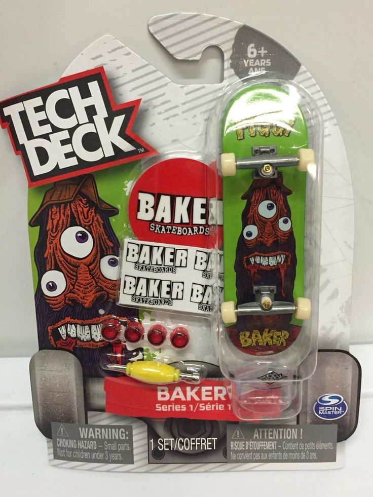 Tech Deck Series 1 Baker Figgy Skateboard Enfant