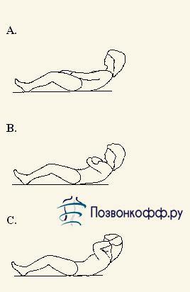 упражнения при поясничной грыже позвоночника