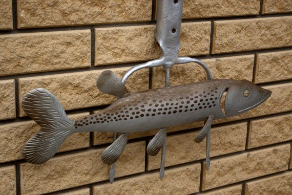 Metallic decor/Fish Metal/Stamping Metal/Fish on от KrainaHandmade