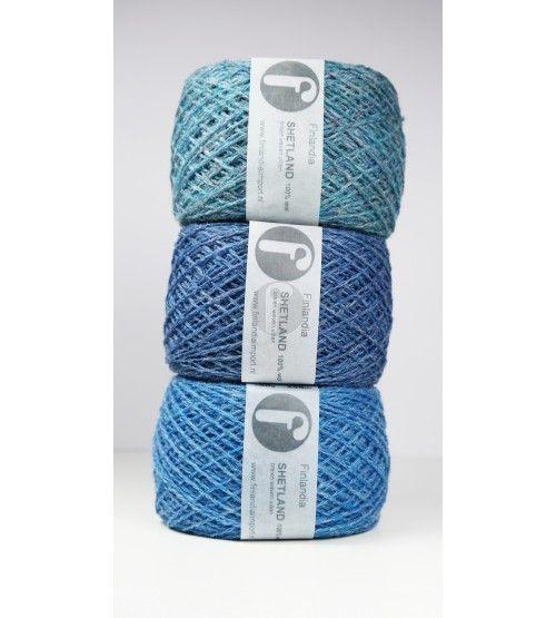 heel veel prachtige kleuren - Finlandia Import Shetland