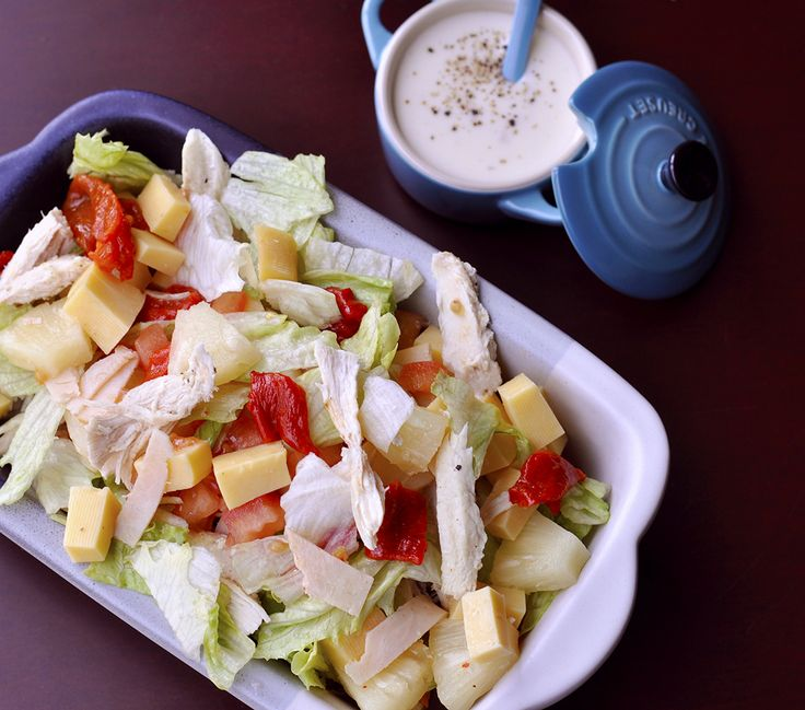 Tropical Salad with fresh flavours and a special dressing