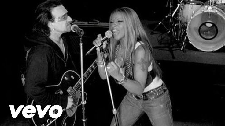 U2 ft. Mary J. Blige ~ One ... my favorite version of this U2 classic ... thanks for the soul, Mary & a great song, Bono! xo's