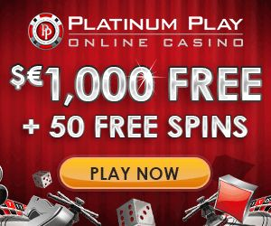 Platinum Play casino big promotion for new players - Scommesse e Casino online