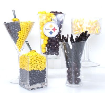 19 best pittsburgh steelers birthday images on pinterest pittsburgh steelers candy buffet kit filmwisefo Gallery