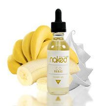 Go Nanas E Liquid by Naked E Liquid serves up a creamy base with banana slices that cascade its flavor long into your vape session. The incomparable flavor of banana and yogurt become one within Go Nanas. Go Nanas E Liquid is VG/PG 70/30 in Nicotine levels of 0mg, 3mg, and 6mg. #Vape #Vaping #Naked #Eliquid #Ejuice #GoNanasEliquid #NakedGoNanasEliquid