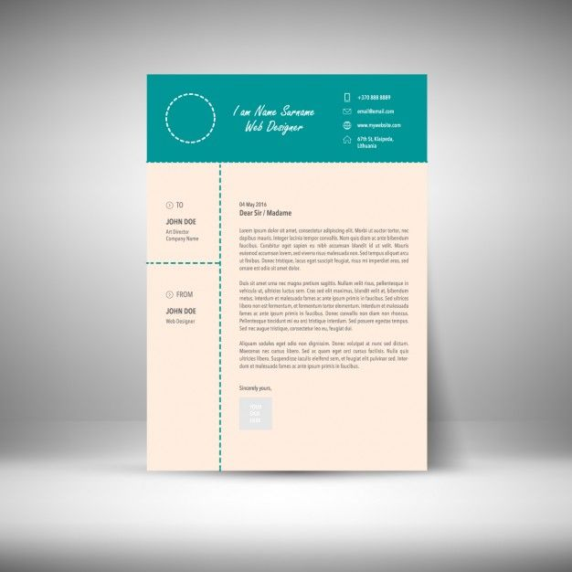 52 best CV images on Pinterest Resume templates, Cv template and - colorful resume template free download