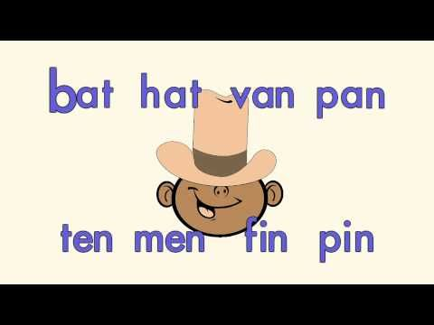 Phonics Song: Build a Word With Miss Jenny / www.edutunes.com