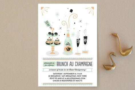 """Brunch Au Champagne"" - Whimsical"