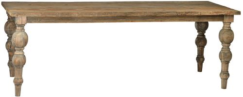 Salvaged Wood Baluster Table (5 Sizes)