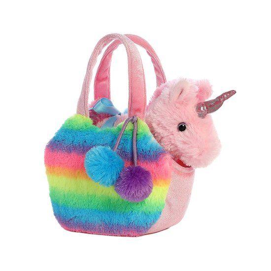 Aurora Fancy Pal Pet Carrier Rainbow & Unicorn