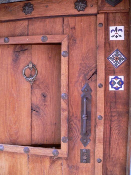 Puerta de entrada de casa puertas pinterest rust - Puertas de metal para casas ...