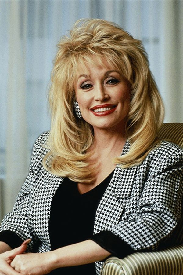Dolly Parton Hairstyle Synthetic Hair Lace Front Cap Wig In