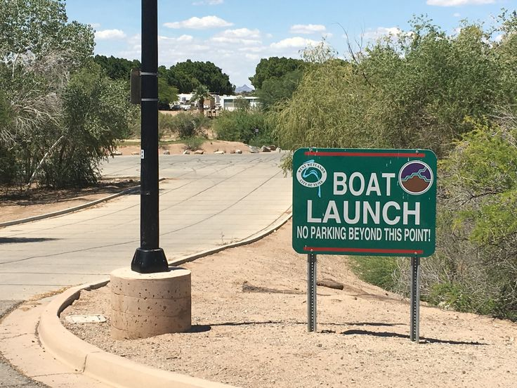 Boat Launch at West Wetlands for rubber rafts, kayaks, canoes, and flat bottom boats.