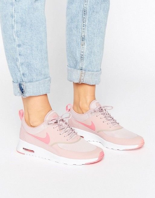 Nike Air Max Thea Trainers In Pink asos