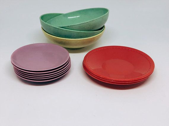 Toy Plates And Bowls