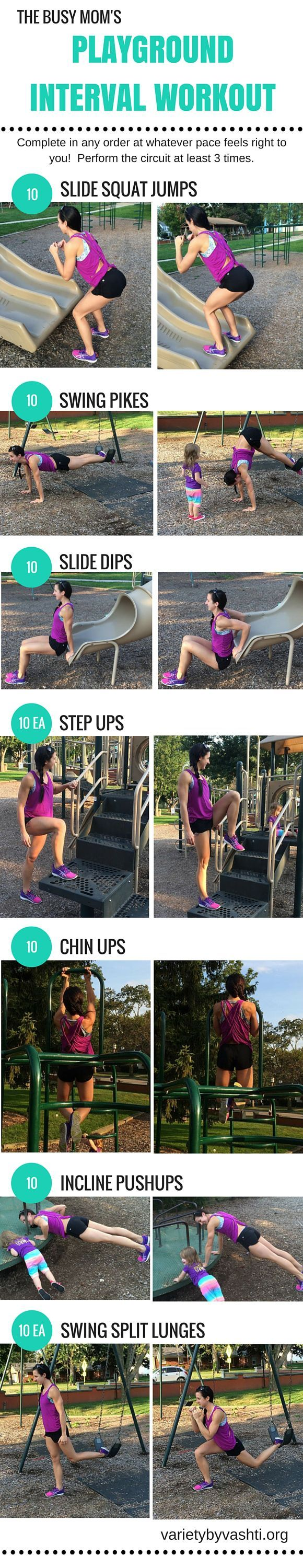 10 Huge Rewards of Taking Your Workout Outside + Circuit Workout for the park! #outdoorworkout
