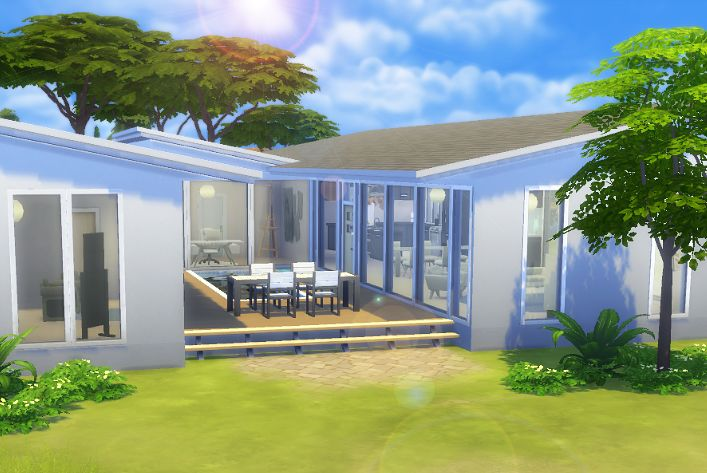 My Sims 4 lot build: Home on the Beach by LiseHaidee Download it from the gallery and enjoy!