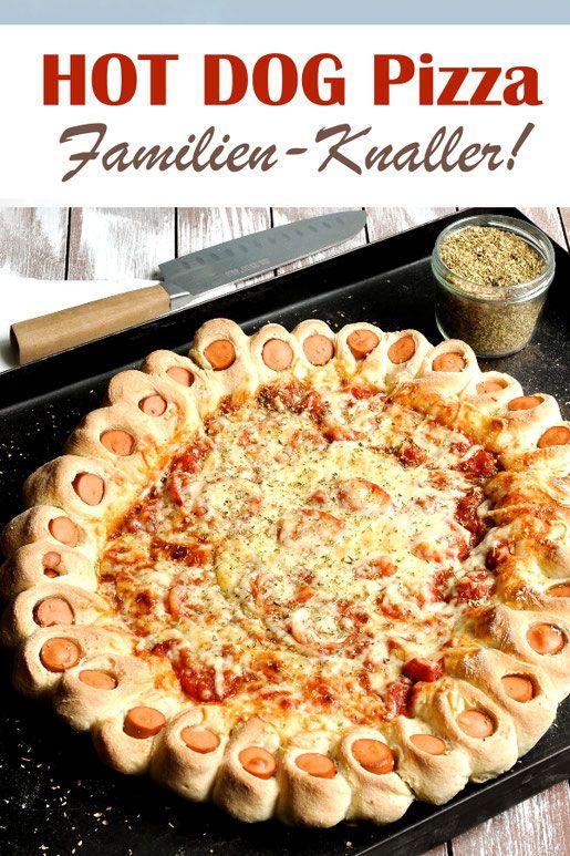 Hot Dog Pizza. Knaller für die ganze Familie.