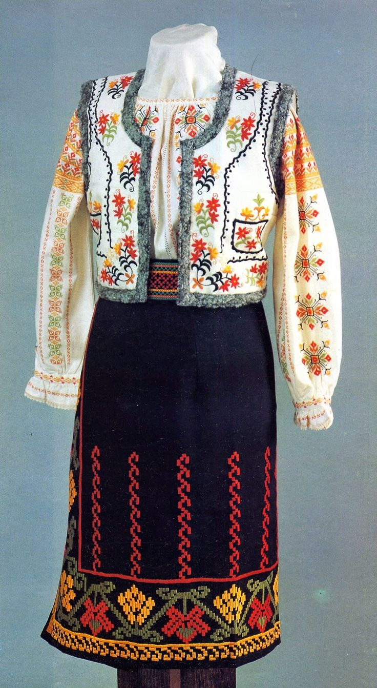 FolkCostume&Embroidery: Overview of the Folk Costumes of Europe, Maldova
