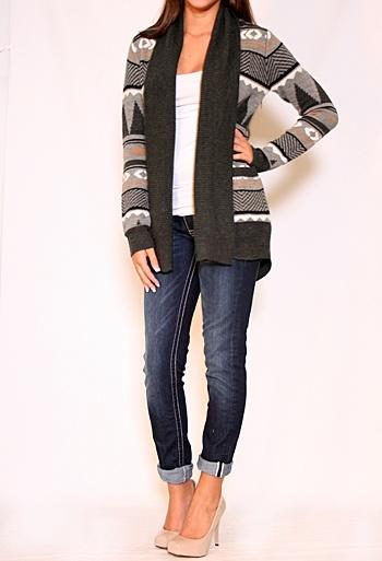 Canyon Stripe Acrylic Sweater KnitStripes Acrylics, Sweaters Knits, Canyon Stripes, Stripes Sweaters, Acrylics Sweaters, Knits Lov, Cozy Sweaters