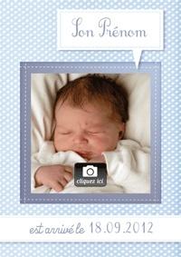 faire part naissance virtuel personnalise