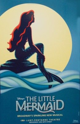 Broadway posters count as art... Especially where the little mermaid is concerned.