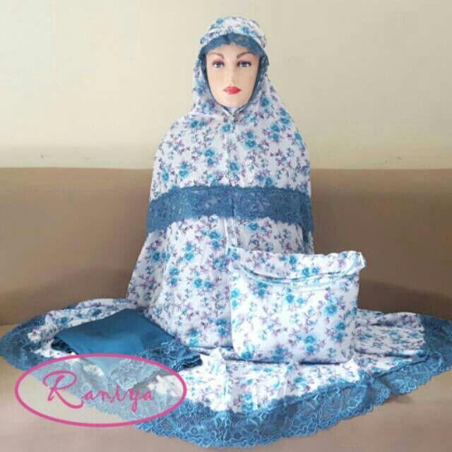 Saya menjual Mukena motif bunga silky rayon putih tosca seharga Rp275.000. Dapatkan produk ini hanya di Shopee! https://shopee.co.id/raniya.shop/255382251 #ShopeeID