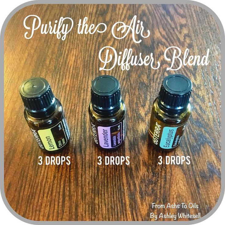 Purify the Air Diffuser Blend Follow me on Instagram
