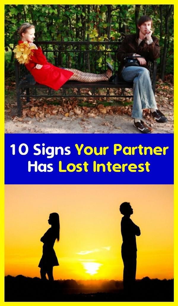 10 Signs Your Partner Has Lost Interest in 2020   How are ...