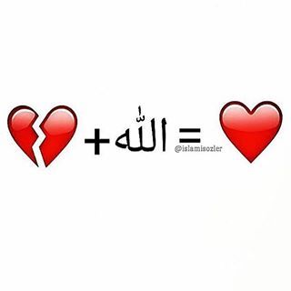 """Allah heals what the"" dunya breaks."