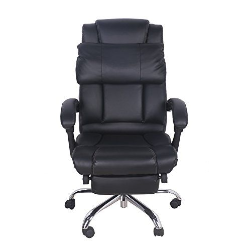 Best Merax Technical Leather Big Tall Executive Recliner 400 x 300