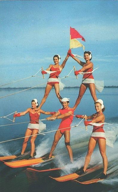 retro Florida kitsch