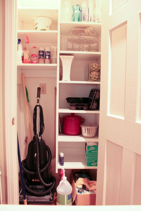 Organization....oh now there is a genius idea for my coat clost. Small  Foyer Closet IdeasCoat Closet Storage ...