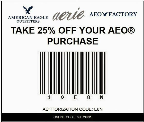 American eagle online coupons 2019