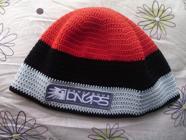 háčkovaná čepice Dangerous/Crochet cap