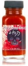 Heartbreaking Dawns Mauvais Sang All Natural Hot Sauce with Scorpion and Bhut Jolokia Peppers