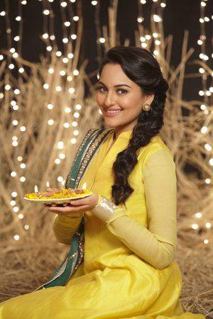 Happy Diwali from Sonakshi Sinha