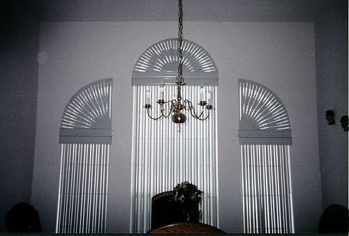 arch window curtain ideas | Arched Windows Blinds and Curtains | ™ Trends Magazine - arch window ...